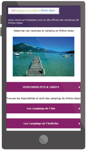 pack groupe mobile responsive